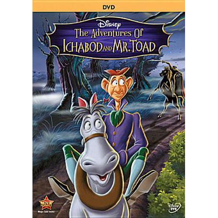 The Adventures Of Ichabod And Mr. Toad (DVD) (Texas Toads Cartoon)