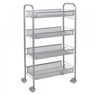 Bingkers Honeycomb Mesh Style Four Layers Removable Storage Cart (Charlotte Nc Mall Stores)