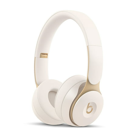 Beats Solo Pro Wireless Noise Cancelling On-Ear Headphones with Apple H1 Headphone Chip - Ivory