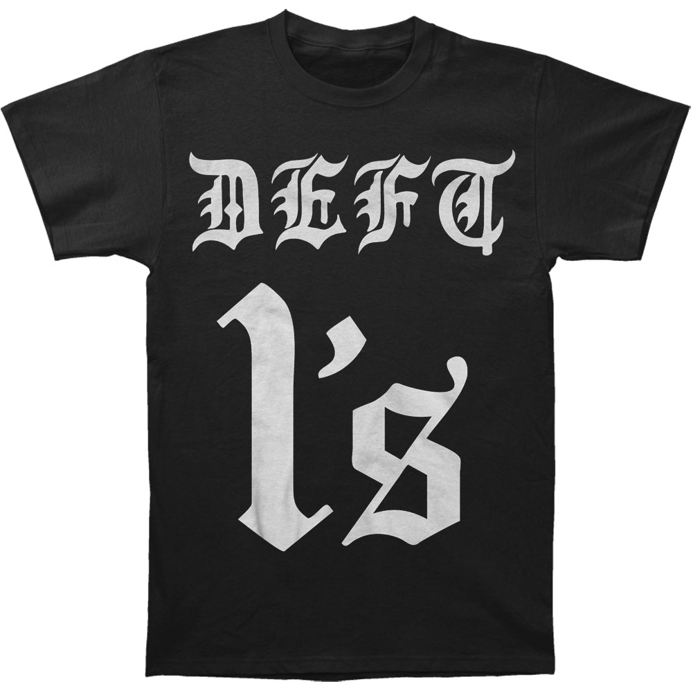 Deftones Men's  Deft 1s T-shirt Black
