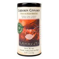 The Republic of Tea, Cardamon Cinnamon Herbal, Tea Bags, 36 ct
