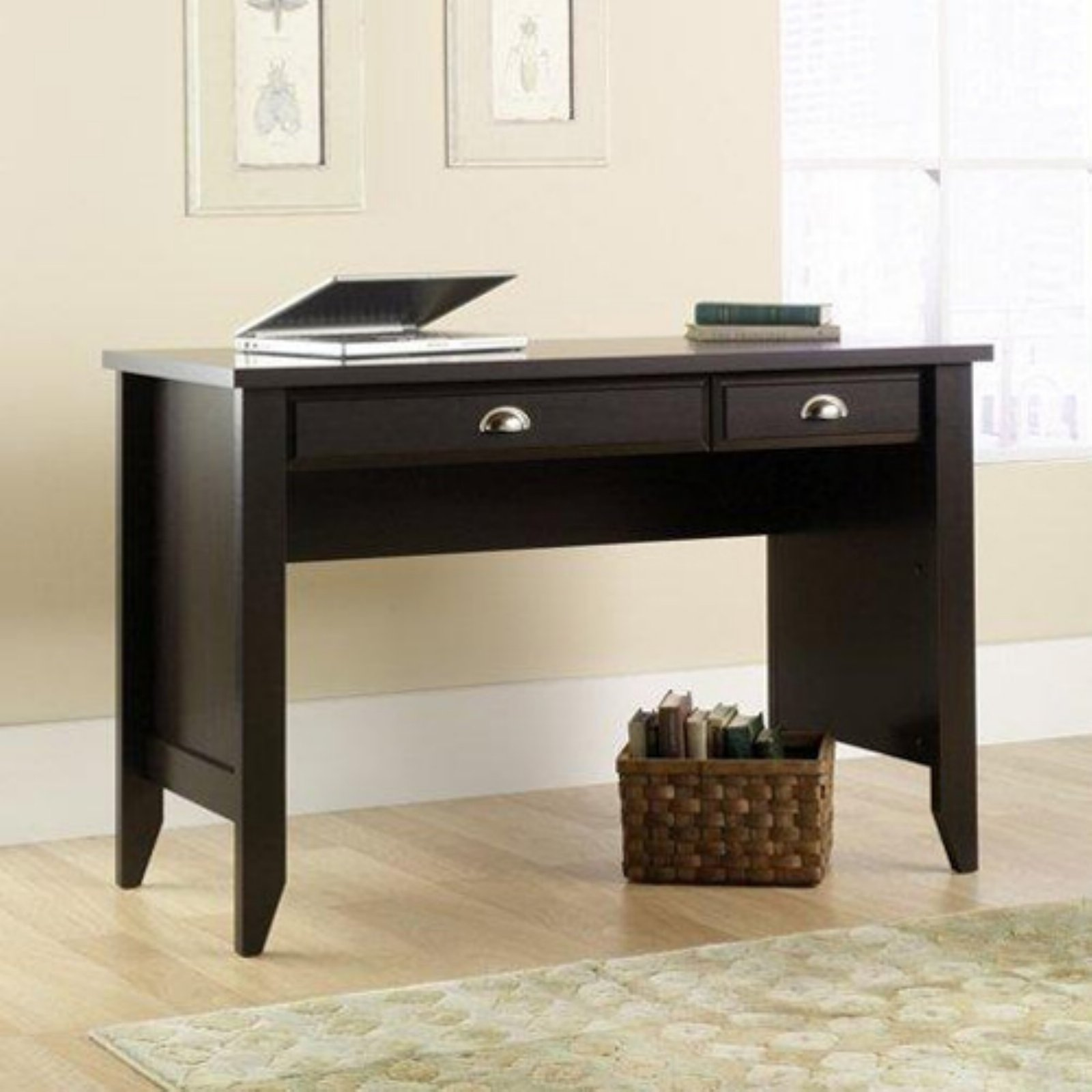 Sauder Shoal Creek Desk - Jamocha Wood