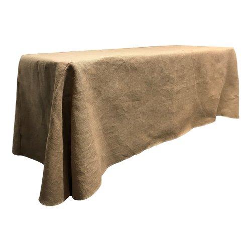 LA Linen Rectangular Burlap Tablecloth by LA Linen