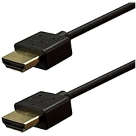 Vericom XHD01-04253 Gold-Plated High-Speed HDMI Cable with Ethernet, 6′