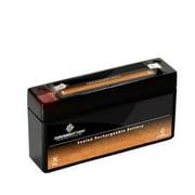 UB613 6V 1.2AH H101A H101B H101 SLA1.2-6 Battery