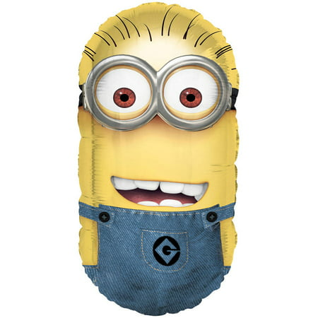 Giant Foil Despicable Me Minion Balloon, 26.5 in, 1ct](Giant Minion)