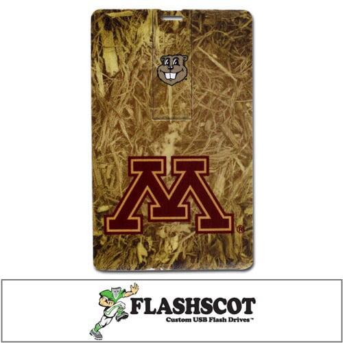 Minnesota Golden Gophers iCard USB Drive - 8GB