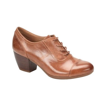 Women's Comfortiva Angelique Block Heel Oxford (La Lights Shoes)
