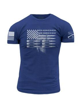 138bea8052bb Product Image Grunt Style Ammo Flag T-Shirt - Royal Blue