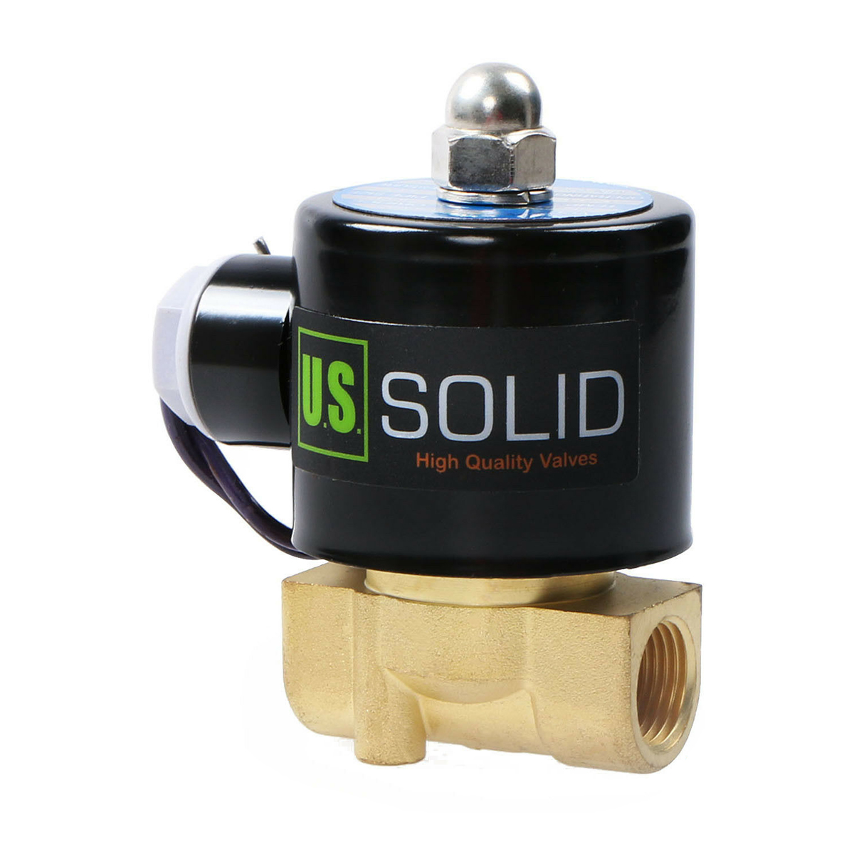 DC 12V Normally Closed NC Electric Solenoid  Air Gas Water Leak Switch $TCH