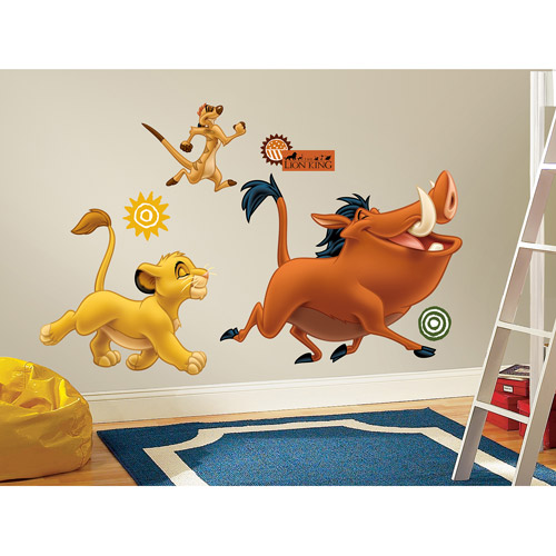 RoomMates The Lion King Peel U0026 Stick Giant Wall Decals