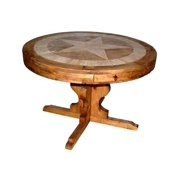 48 in. Round Table w Star Top