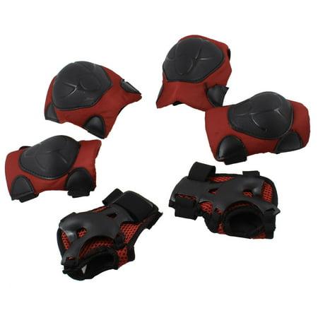 Elbow Guard - 6Pcs Roller Skating Skateborading Knee Brace Elbow Pads Wrist Guard Protective Gear