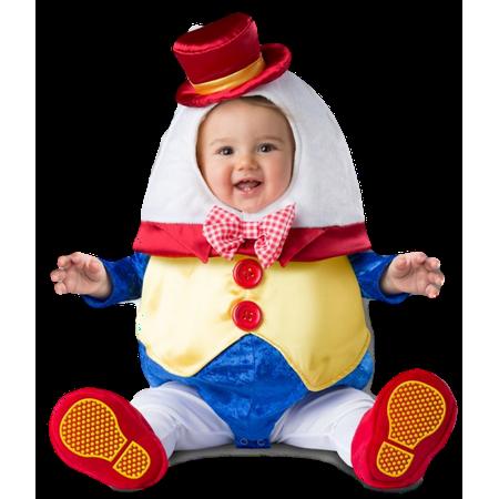 Humpty Dumpty Deluxe Baby Costume 6-12 months - Humpty Dumpty Costume Baby