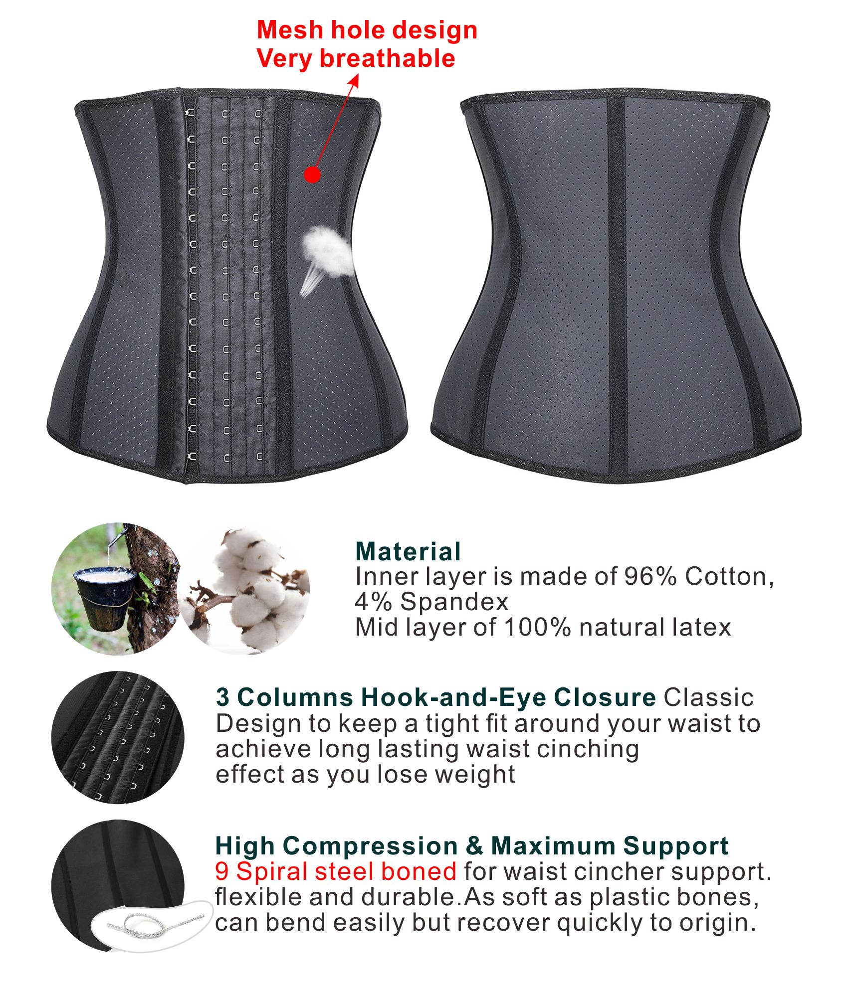 339611c07e7 Camellias Corsets - Camellias Women 25 Steel Boned - Workout Waist Trainer  Shaper Corset For Waist Cincher Weight Loss Tummy Control Body Shapewear  Beige