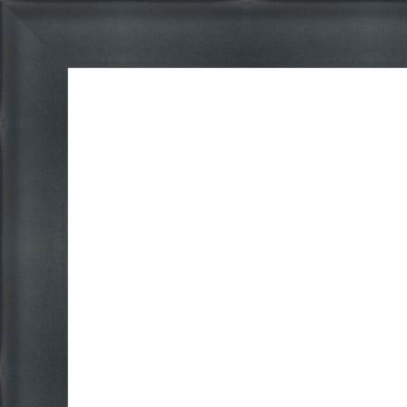 4x24 - 4 x 24 2 inch Deep Shadow Box Custom Size Solid Wood Frame with UV Framer's Acrylic & Foam Board Backing -
