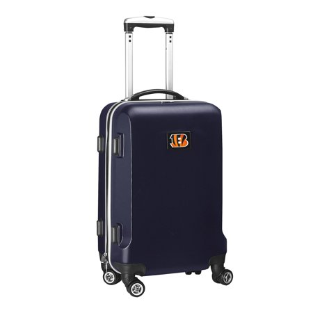 Cincinnati Bengals 20u0022 8-Wheel Hardcase Spinner Carry-On - Navy