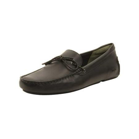 13ade2c29 Lacoste - Lacoste Mens Piloter Corde 117 Loafers in Black - Walmart.com