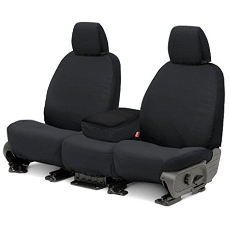 Covercraft SS2485PCCH Seat Cover, Charcoal Black, Seat Covers