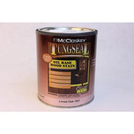 Limed Oak Oil Base Wood Stain 32oz Mccloskey Spray Paint 1951 Oak 012027195126