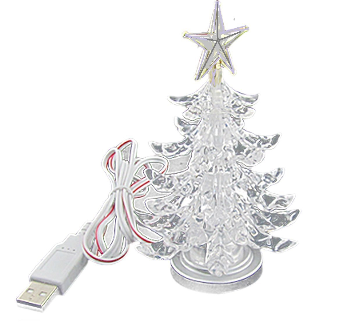 USB Powered Miniature Christmas Tree Multicolor LEDs (LED ...