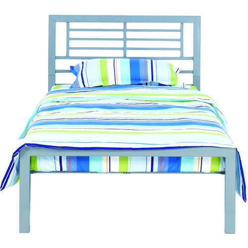 YourZone Metal Bed Frame, Twin Size, Multiple Colors