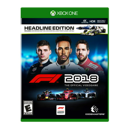 F1 2018 Headline Edition, Square Enix, Xbox One,