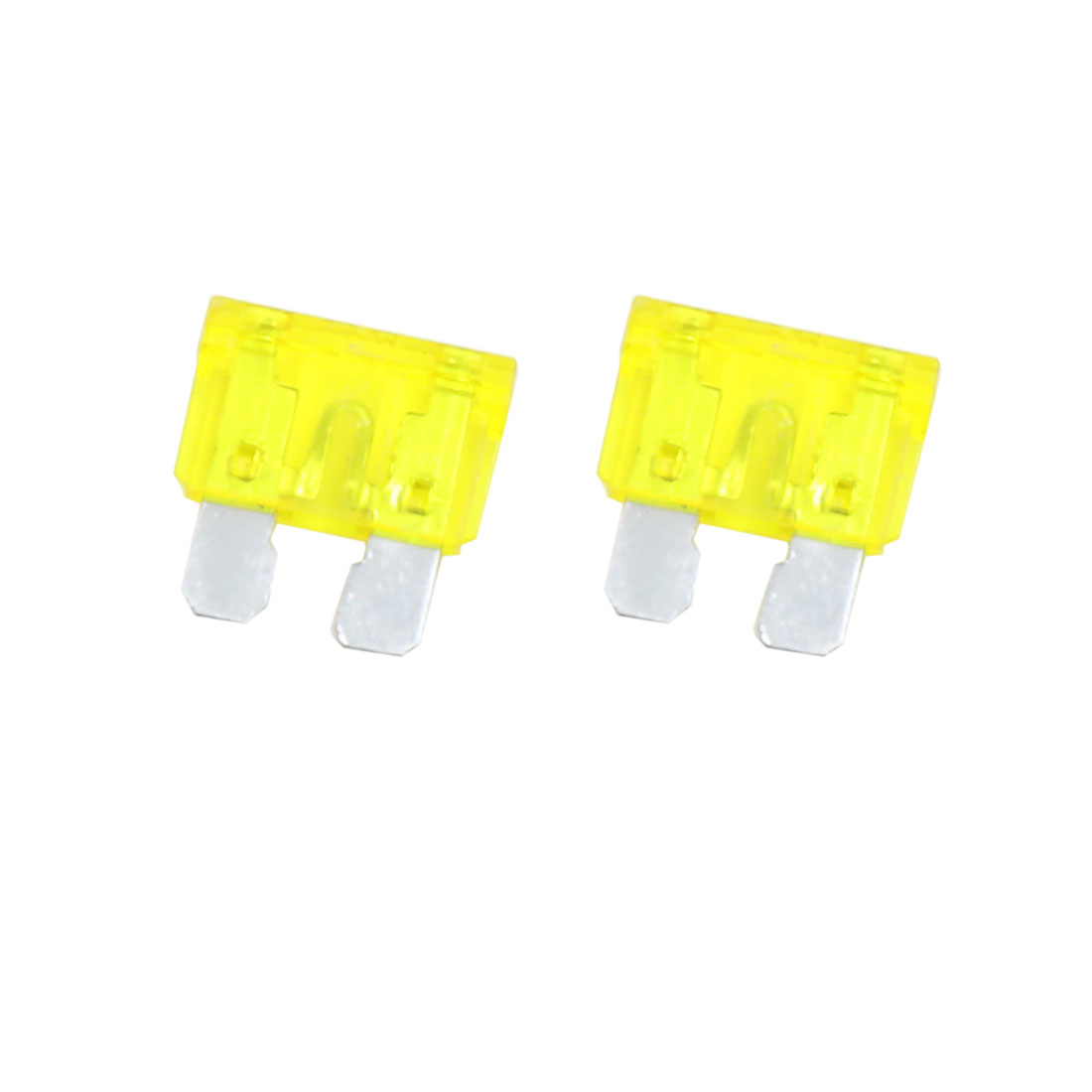 2 Set DC 32V 10 Gauge Car In Line ATC ATO Blade Style Fuse Holder with 20A Fuse - image 1 of 5