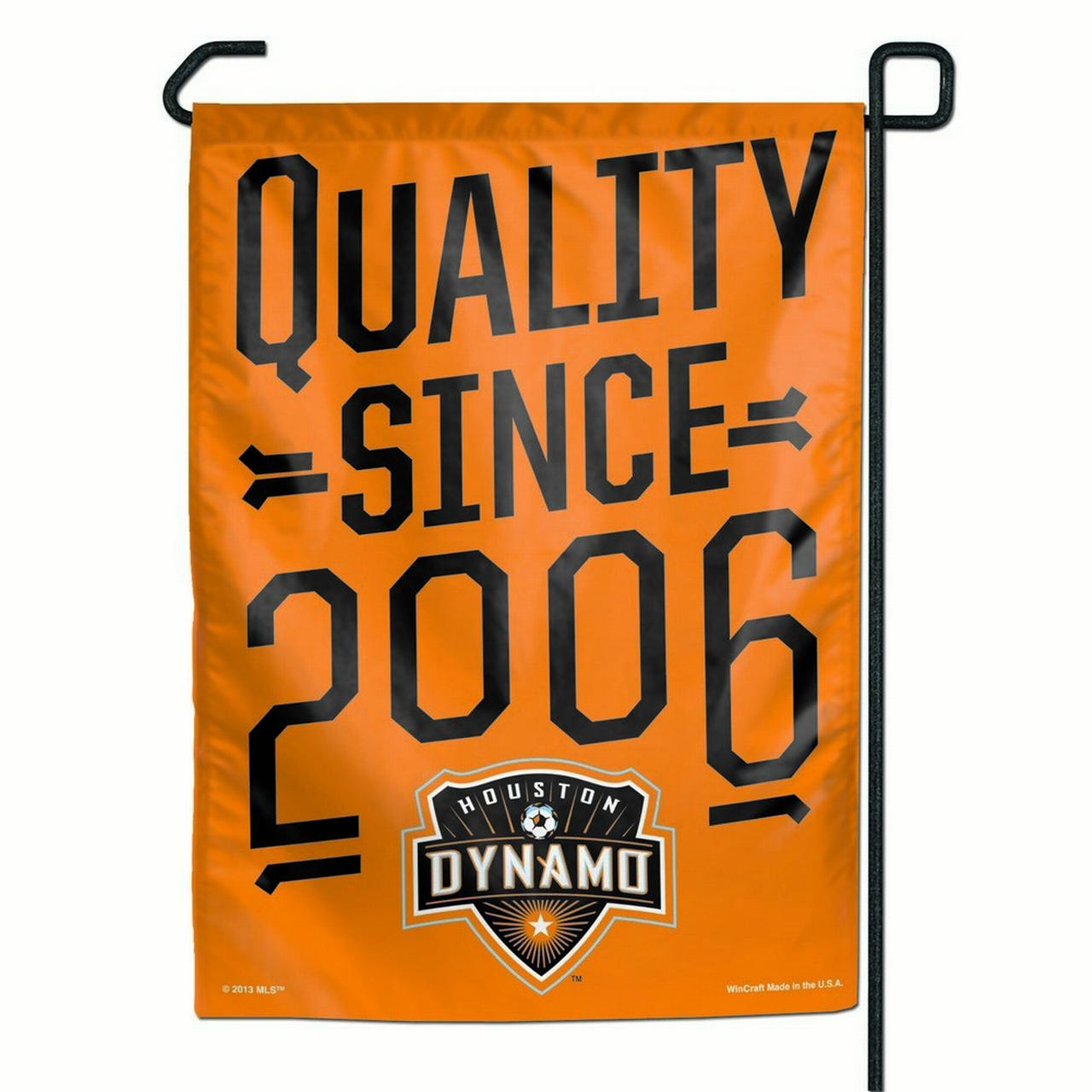 "Houston Dynamo 11"" x 15"" Garden Flag"