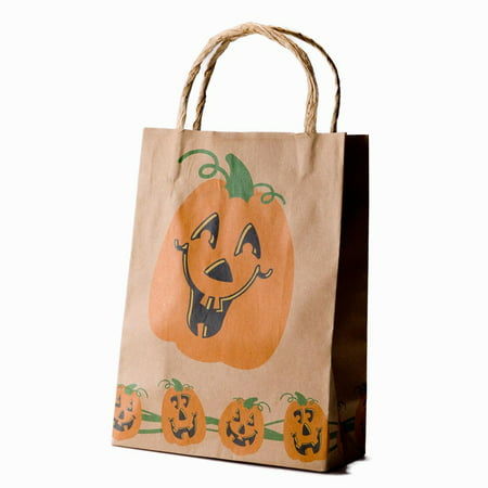 Halloween Brown Paper Gift