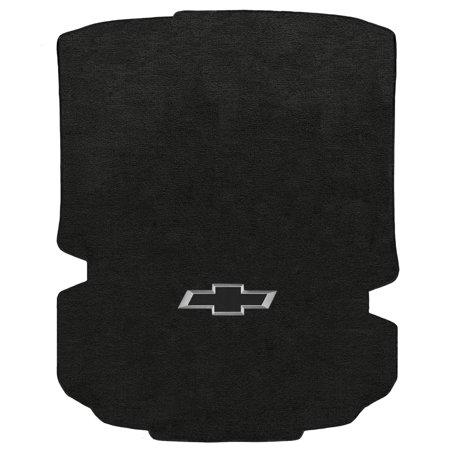 (Lloyd Mats Camaro 2016-On Coupe Trunk Mat Ebony Velourtex Black 3D Bowtie)