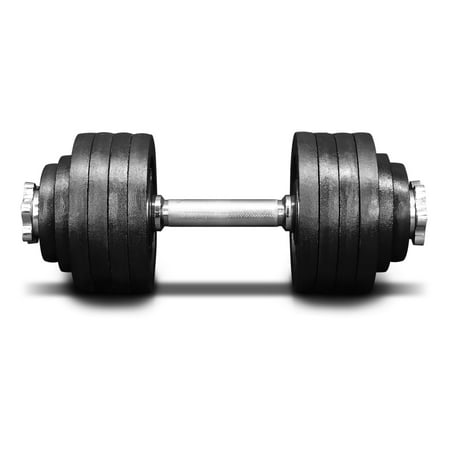 - Yes4All 52.5 lb Adjustable Dumbbell Weight Set - Cast Iron Dumbbell (1 pc)