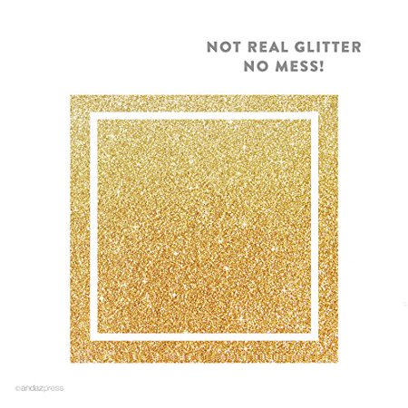 gold solid color square gift label stickers 40 pack walmart com