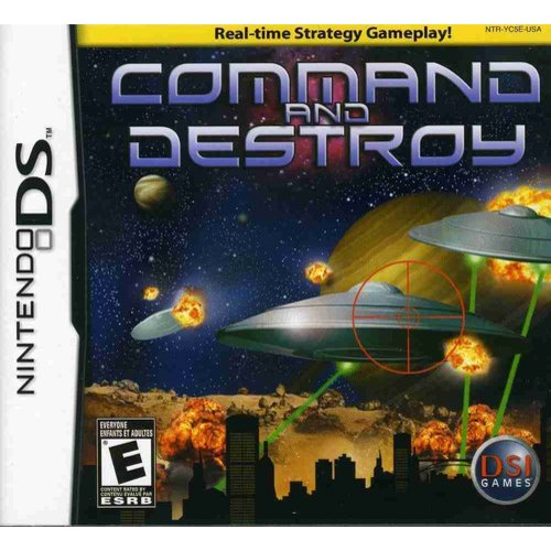 Image of command and destroy - nintendo ds
