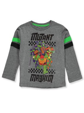 TMNT Boys' Mutant Mayhem L/S T-Shirt