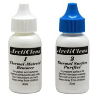 ArctiClean Thermal Material Remover And Surface Purifier (2 Part 60ml Set) Arctic Silver