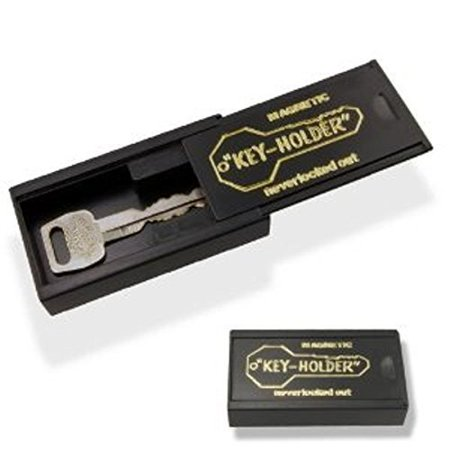 77236afaf703 Hide A Key Under Car Magnet Key Case Large Black - Walmart.com