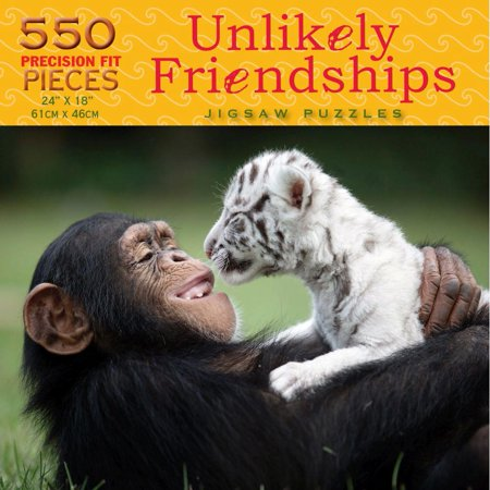 Best Friends Forever 550 Piece Puzzle,  Wildlife by Luv-It (Best Friend Puzzle Piece Tattoo)