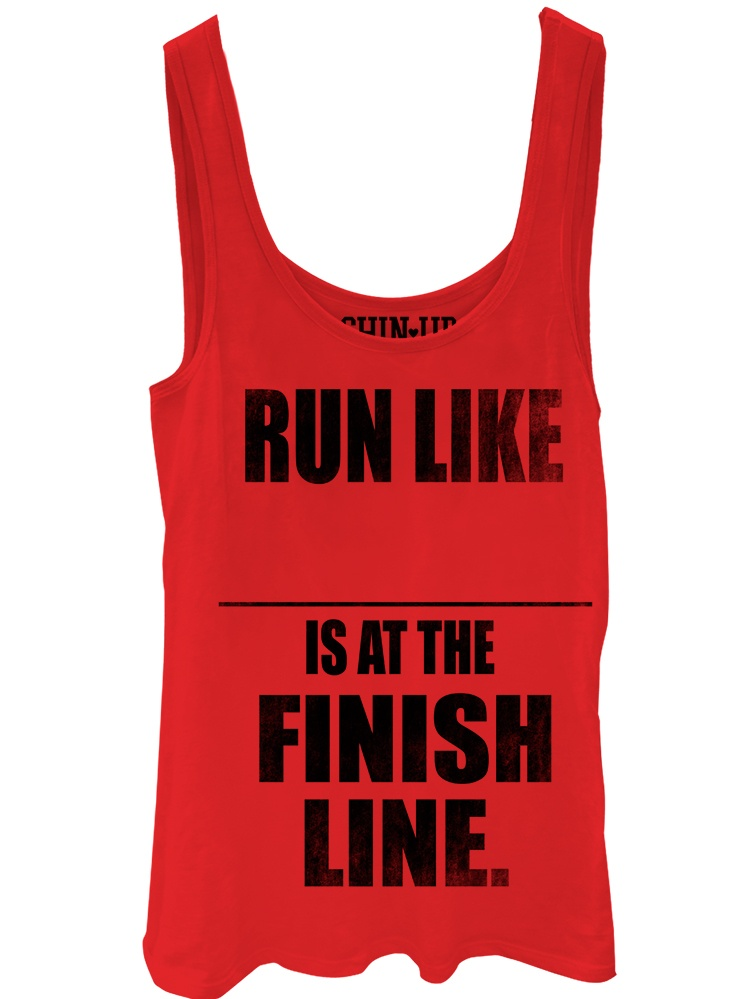 Chin Up Juniors' At the Finish Line Tank Top