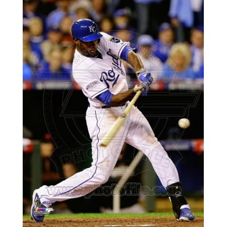 Lorenzo Cain Game 6 of the 2014 World Series Action Sports Photo