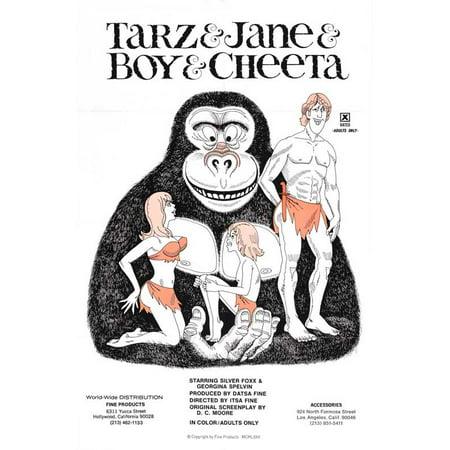Tarzan And Jane Halloween (Tarzan and Jane Regained... Sort of POSTER Movie Mini)