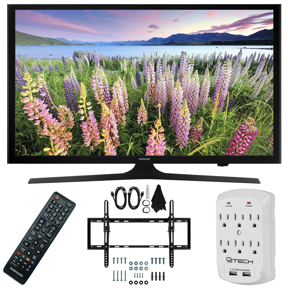 Samsung UN50J5000 - 50-Inch Full HD 1080p LED HDTV Flat & Tilt Wall Mount Bundle
