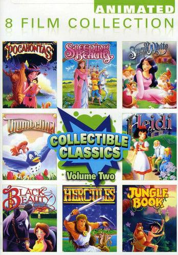 Collectible Classics Vol. Two: Pocohontas   Sleeping Beauty   Snow White   Thumbelina   Heidi   Black Beauty  ... by GAIAM INC