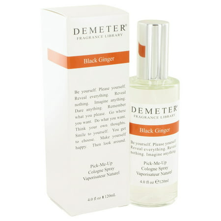 - Demeter Demeter Black Ginger Cologne Spray (formerly Kahala Black Ginger) for Women 4 oz