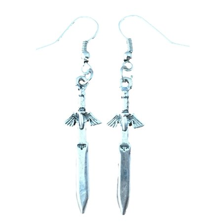 Dangle Earrings Legend of Zelda Sword In Gift Box by Superheroes](Legend Of Zelda Sword)