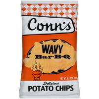 Conn's Wavy Bar-b-q Flavored Potato Chips, 9.5 Oz.