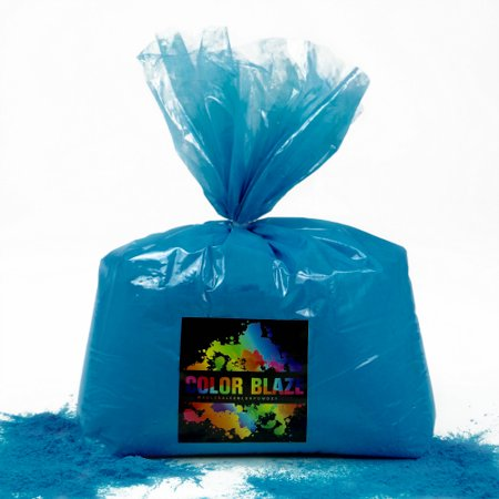 Color Powder Blue - 5 Pounds - Perfect for Gender Reveals, Fun Runs, Youth Group Color Games, Color Wars, Holi Festivals and - Gender Reveal Party City