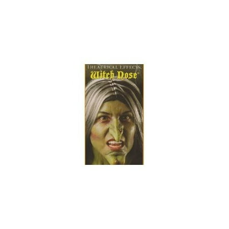 Wicked Witch Nose Green Prosthetic Makeup Halloween Kit - Best Makeup To Use For Halloween