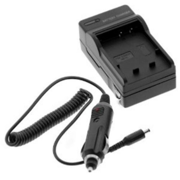 Panasonic Lumix DMC_GF2 Digital Camera Battery Charger (110_220v with Car & EU adapters) _ Replacement Charger for Panasonic DMW