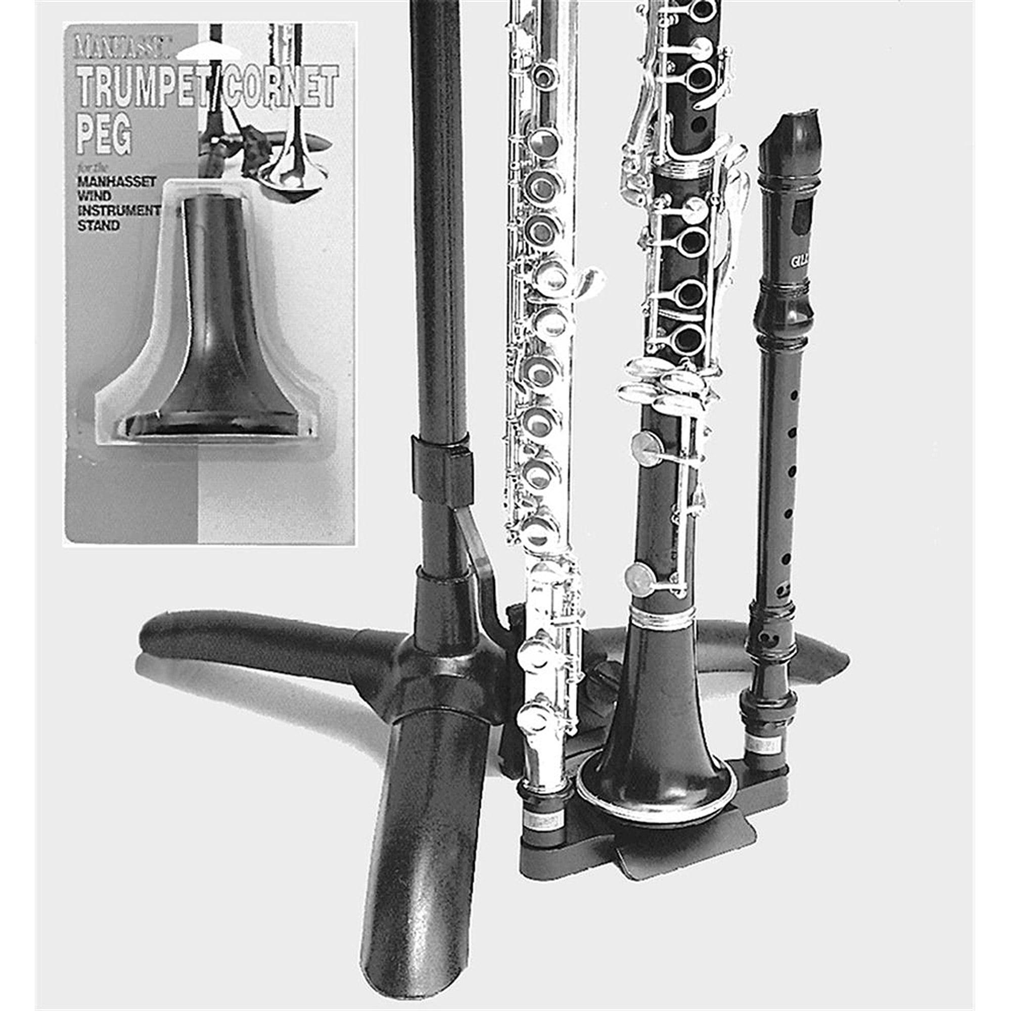 Manhasset #1480 Trumpet Cornet Peg, Music Stand Accessory by Manhasset
